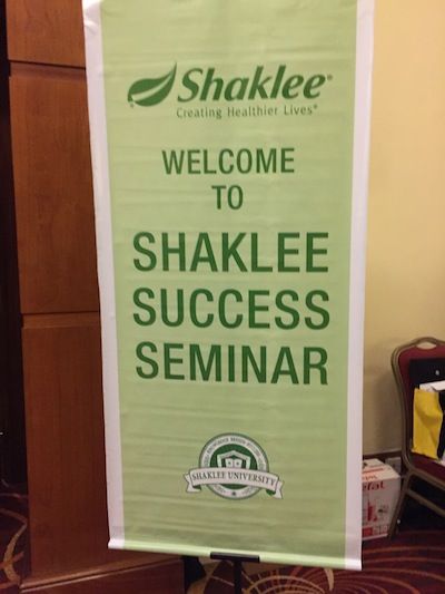 shaklee-success-seminar-bunting