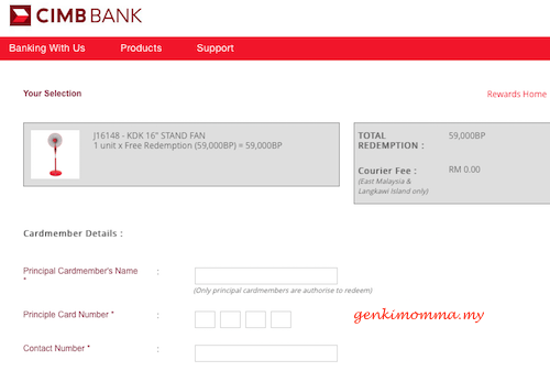 how to pay credit card online cimb