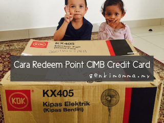 Cara Redeem Point CIMB Credit Card Online