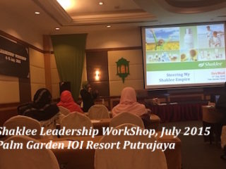Shaklee Leadership Workshop di Palm Garden IOI Resort Putrajaya 2015