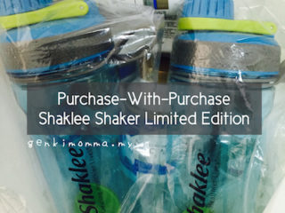 Promosi PWP Shaklee Shaker Limited Edition 2016