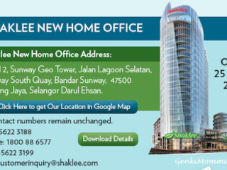 Shaklee HQ Pindah Ke Sunway GEO Tower Mulai 25 April 2017